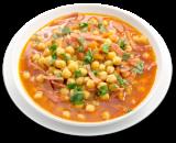 Суп с нутом по-испански