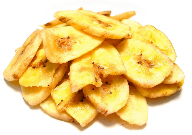 Банановые чипсы 100г