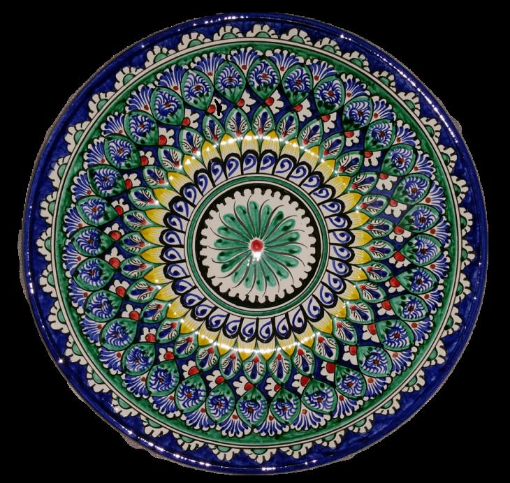 Керамическая тарелка для салата и фруктов 32см